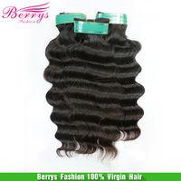 "7A Brazilian virgin hair body wave Non Chemical Processed Cuticle Aligned Human hair 12""-26"" 3pcs/lot Human Hair Weaves"