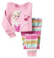 frezen clothes sets fashion cartoon elsa clothes kids baby boys girls children pajamas clothing sets spring autumn clothing sets