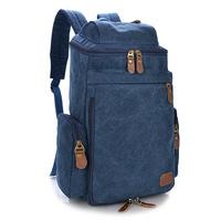 Computer  backpack shoulder canvas Korean version of the big bag cc45