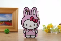 Silicone for iPhone 6 shell Wholesale, rabbit kitty  Mobile protective shell / Phone case 5 color