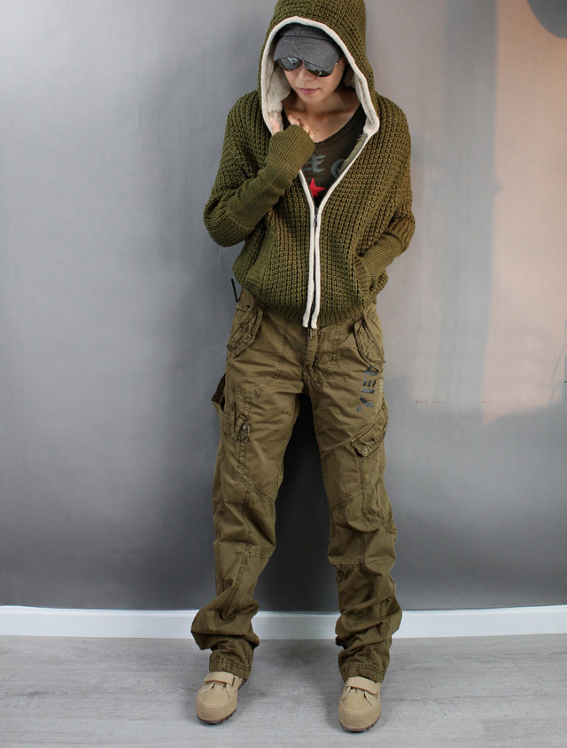 Cargo Pants With Lots of Pockets Pocket Cargo Pants Women