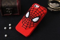 Silicone for iPhone 6 shell Wholesale,  spider-man Mobile protective shell / Phone case