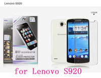 NILLKIN screen protector Lot! Matte OR Super clear HD anti-fingerprint protective film for Lenovo S920+retailed package