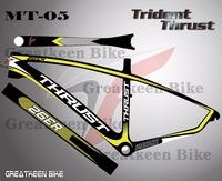 26er 29er 27.5er Trident Thrust MT5 carbon fiber road bike frame carbon t1000electric bicycle cuadro bicicleta carbono 986