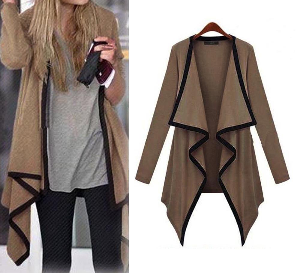 2014 Fashion Korean Retro Lapel Women's Lady's Loose Tops Long Sleeve Shirt Casual Cardigan cost(China (Mainland))