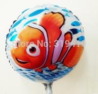 18inch 45cm Fish Nemo Ocean Balloon Decoration Toys 50pcs