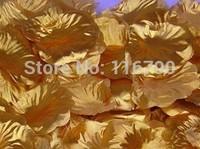 1000pcs or Silver Golden  Artificial Rose Petals For Wedding Decoration&Valentine's Day Favors Artificial Flowers Petal