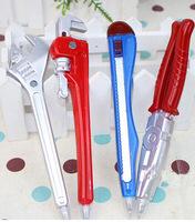 free shipping 20pcs/lot  2014 new design fashion Cartoon hardware tool shape Ballpen,Promotional pen