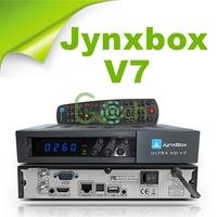 (9pcs/lot) jynxbox ultra hd v7 with JB200 module build in wifi, support YouTube,USB PVR,HDMI JynxBox V7 for North America