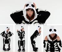 cosplay sleepwear Skeleton animal Pajamas cute long sleeve women man winter home clothing