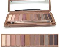 NAKE 3 Pro Full 12 Color Makeup Brand Eyeshadow Palette Fashion Eye Shadow Make up Shadows  with brush Set urban Cosmetic Tools