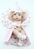 10 inches Girl Baby Dolls Full Vinyl Hobbies Realistic Mini Vinyl Doll Kids Toys High Fashion