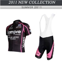 2011 Lady Summer black Purple Women Cycling Bike Bicycle Short Sleeve Jerseys Wear Color XS~4XL Free shipping
