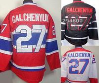 Wholesale Cheap Hockey Jerseys #27 Alex Galchenyuk Jersey Home Red Road White Black Ice Stitched Jerseys
