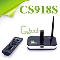 CS918S Quad Core Android 4.4 Smart TV Box 4K*2K Allwinner A31S 1GB/8GB XBMC,Miracast,DLNA Built in 2.0MP Camera, Bluetooth