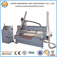Linear type auto tool change cnc router with atc