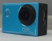 Free shipping Sports Camera Full HD 1080P 12MP Outdoor Camera 30M Waterproof Camera 170 degree wide angle  X1 HDR