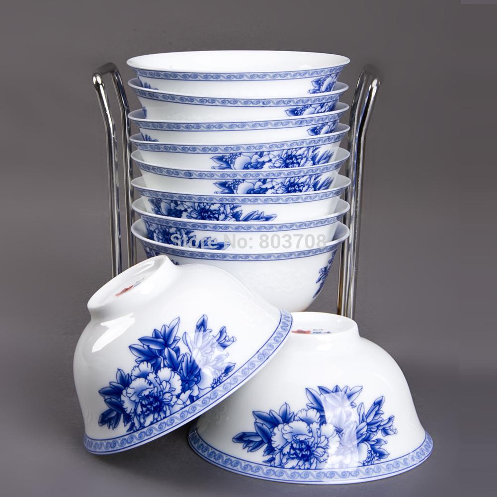 Blue and white porcelain tableware Jingdezhen porcelain tableware ceramic tableware(China (Mainland))