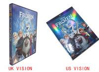 Cartoon frozen DVD movies Frozen US version or UK vision frozen dvd movies for Children movies factory selaed brand new