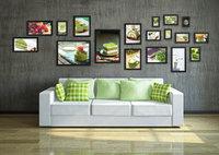 Photo Frame Moldura Wood Home Living Room Wall Mounted Creative SM-18A-B Decoration Art Home Decor Wall Stickers Photo Albums