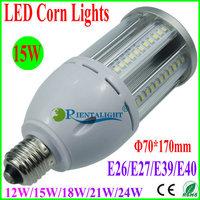 10pcs 15W LED Corn Light, Epistar SMD2835, Canopy/Flood/Supermarket/Post Top/Tunnel Lamp, E26/E27/E39/E40, Warm/Pure/Cold White