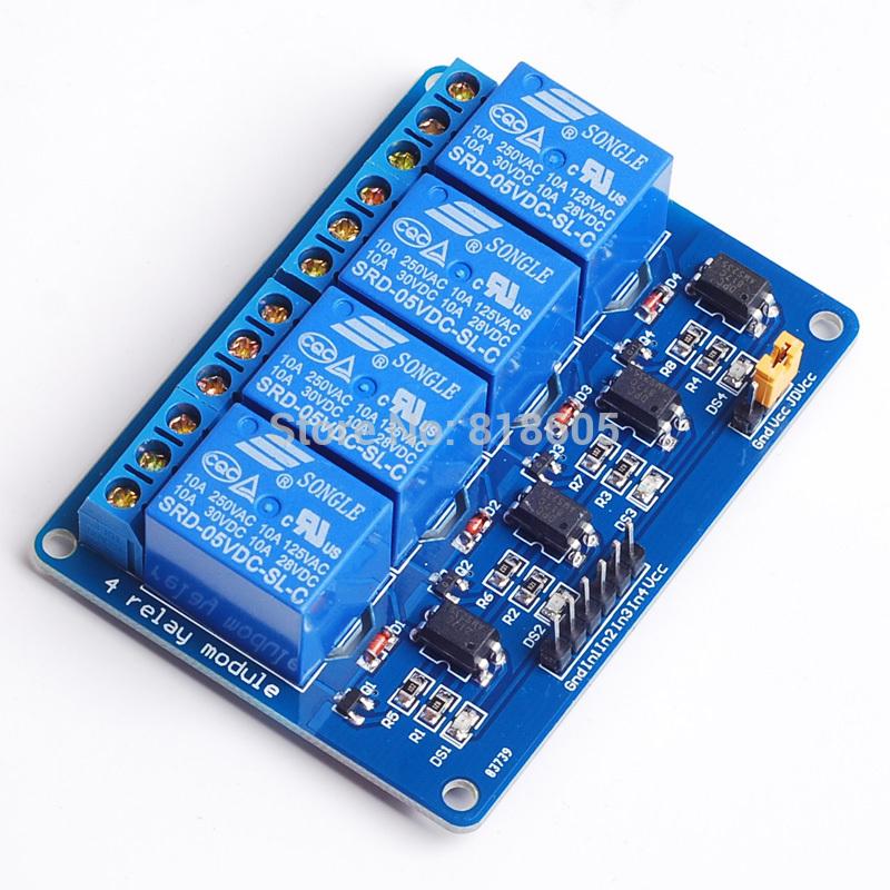 4 channel relay board eBay