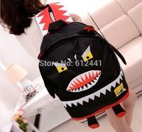 Free Shipping Fashion New Design Red Penguin Girl School Bag Boy Backpack Bag