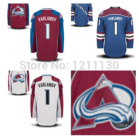 Avalanche Varlamov Varlamov Avalanche Jersey