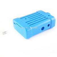 Blue  Color Plastic Cover Shell Bag Enclosure Case for Raspberry Pi 512MB Model B
