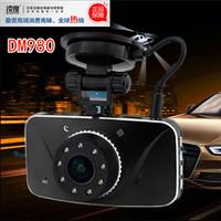 HD 1080P ultra-wide angle 170 degree car camera super night vision DM980 upgrade version traffic recorder car dvr