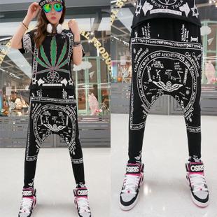 Black Hip Hop Dance Pants