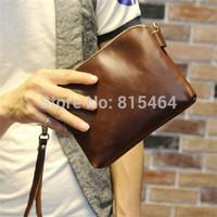 Fashion design hot sale men PU leather handbags free shipping,designer brand vintage men messenger bags/crossbody bags for men