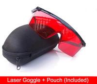Laser Safety goggles glasses protecter for 190nm-540nm(for green laser/purple laser/blue laser)