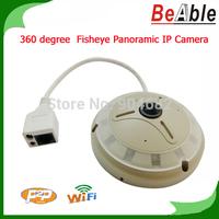 Onvif P2P Motion Detection 1.3 Megapixel  Ceilling mount Panoramic 360 degrees Full View Fish Eye IP Camera