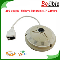 Fisheye and Panoramic Surveillance Camera 1.3MegaPixel 3Installation Modes 9 Video modes Support day/night Onvif P2P IP Camera