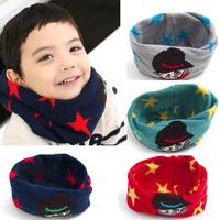 2015 New Autumn & Winter Warm Knitted Kids Cute Muffler Baby Scarf Children Baby Infant Handmade Muffler
