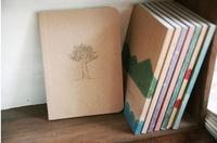 80pcs/lot Vintage Notepad Crayon Drawing Notebook Hardcover Journal Diary Pocket Memo Pad Stationery Writing Supplies #NB006
