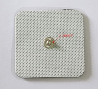 Fresshipping 100 PCS  5*5cm TENS EMS Electrode Pads For digital therapy machine pads & slimming machine massager Pads