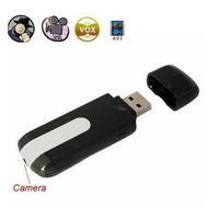 New 2014 Novelty mini U8 DVR hidden camera JPG 1280*1024 U disk USB Motion Detection Cam AVI Video Up to 32GB micro TF card