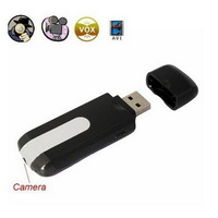 New 2014 Novelty mini U8 DVR hidden camera JPG 1280*1024 U disk USB Motion Detection Cam AVI Video Up to 32GB micro TF card