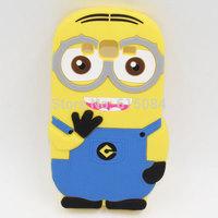 For Samsung Galaxy Win Pro G3812 3812 case Minions Despicable me silicone phone Cover