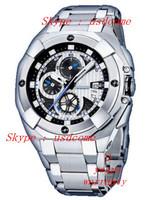 Free Shipping Mens Chronograph Bike De France F16351 / 1 Chrono Steel Band Watch