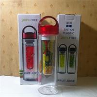 Network-wide lowest Tritan water bottle outdoor sports popular in ROK-US plastic cups artifact creative fruit Cup