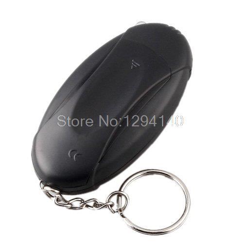 Free Shipping 10pcs/lot Alcohol Tester Breathalyzer Keychain Car Gadget - Flashlight + Stopwatch Car accessories Satety(China (Mainland))