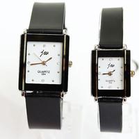 New Hot Sale Popular Fashion 4 Rhinestone Watches Silicone Wrist Quartz Lovers Men Women Girl Unisex Free shipping
