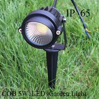 hot 12V COB 5w outdoor led garden light IP65 garden solar light low watt Lawn Lamps For Landscape Lighting
