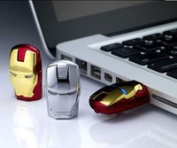 New For Avengers Iron Man LED pen drive usb flash drive 2GB 4GB 8GB 16GB 32GB 64GB pendrive memory card pendrives free shipping