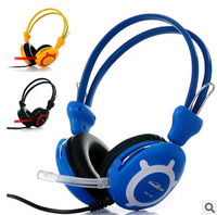 EP001 wired 3.5mm studio headphone gaming noise canceling headphones for computer with mic microphone microfone