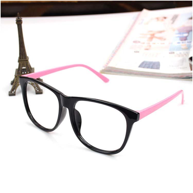 Glasses Frame Fashion 2015 : Fashion Cute Men Women 2015 new Eye Glasses Frame No Lens ...