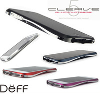 Luxury Deff Cleave Draco V Aliminum Bumper Case Metal Frame Cover for Apple iPhone 5 5S with Retail Packing Box 2014 NEW